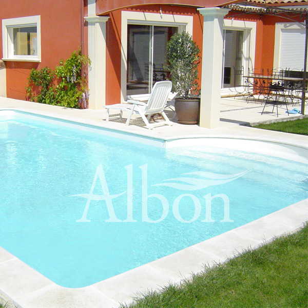 Blanc piscines mcp piscines mcp for Couleur liner piscine blanc