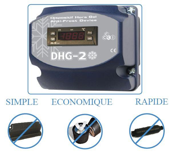 Coffret hors gel dhg2 piscines mcp piscines mcp for Systeme hors gel pour piscine